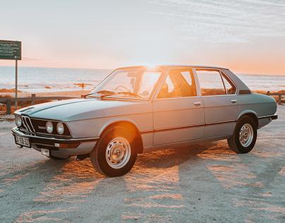Betty the 1981 BMW 520 E12