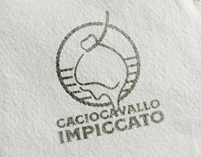 Caciocavallo Impiccato - Logo, branding & packaging