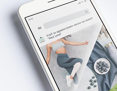 Social Media Designs   Wellness Club Next Level