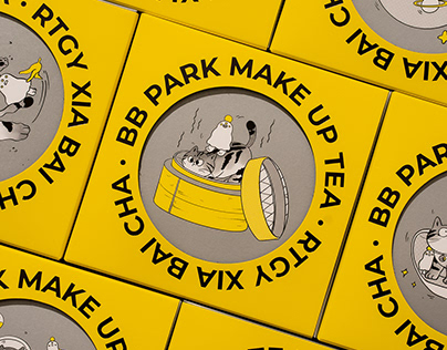 BB PARK · MAKE UP TEA 日谈公园 · 瞎掰茶 | 包装设计