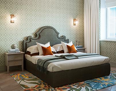 Visualization of Master Bedroom