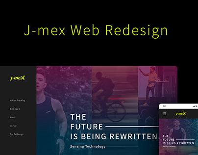 J-mex Web Redesign