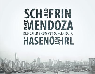 CD Artwork: Dedicated Trumpet Concertos