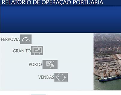 Relatório de Operação Portuária