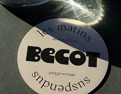 Bécot - Brand identity