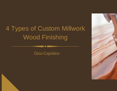 4 Types of Wood Finishing  Gino Capolino