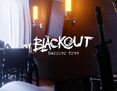 my Blackout / barrier free - illustration series