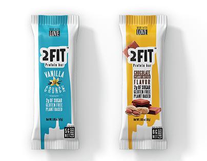 2fit vegan protein bars