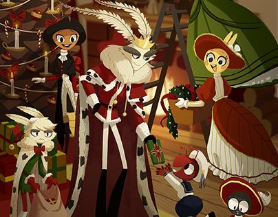 2017 Christmas Card Illustration