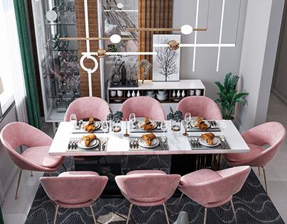 -Madinaty Apartment- Reception