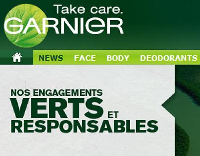 Garnier Engagements Verts et Responsables
