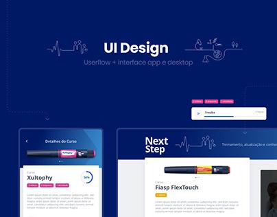 UI Design - Projeto Médicos e Residentes