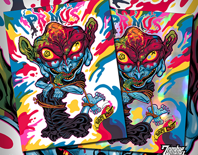 Primus Gig Poster Fall 2017
