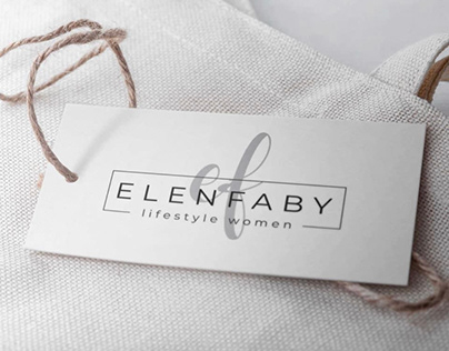 New Logo, flyer and visit card - elenfaby