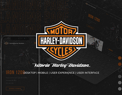 Harley Davidson Vitória - Ux / Ui