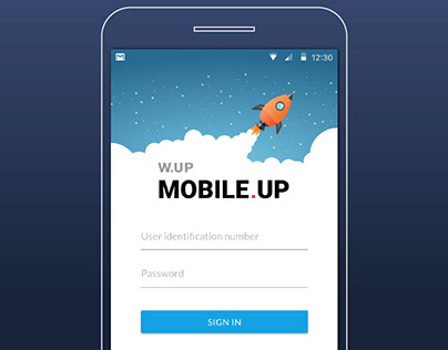 Mobile.UP mobile banking app