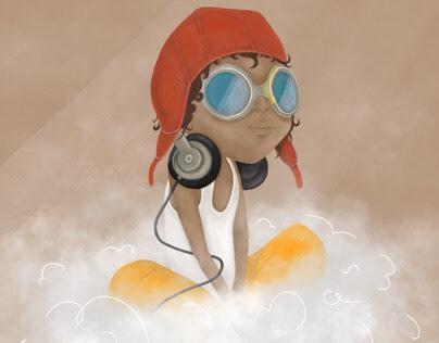 I am music - Illustration