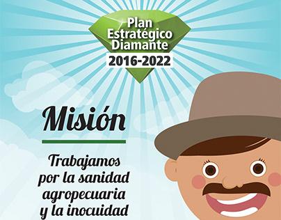 Afiches: Plan Diamante ICA 2018