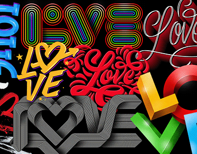 Love - Lettering Collection