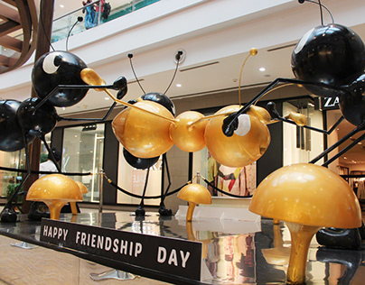 Friendship Day Installation - Ant & Friends