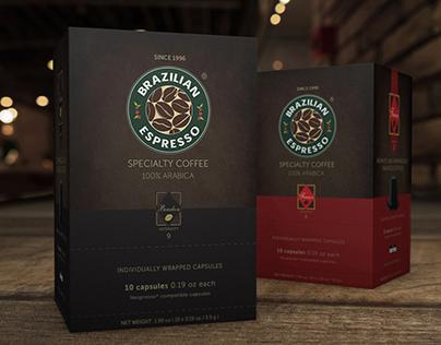 Brazilian Espresso Packs