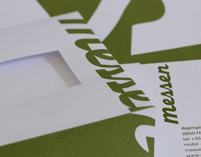 Messen-corporate identity and stationery design