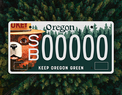 Keep Oregon Green, Smokey Plate Design & Campaign