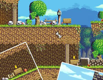 Pixel-art game assets #1