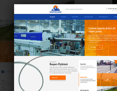 Steel web design