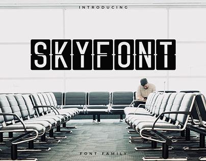 Skyfont Font Family - Sans Serif (Free Download)