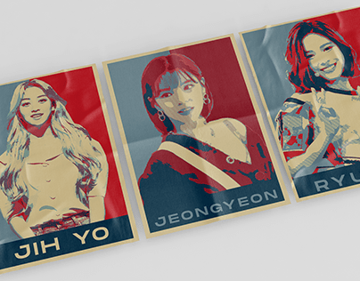 K-pop Obama Style Pop Art