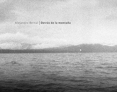 """Alejandro Bernal's """"Detras de la Montaña"""" EP cover"""