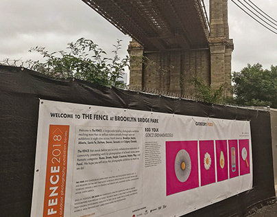 the fence 2018 outdoor exhibition