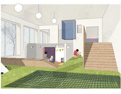 Open Space in the Kinderarten