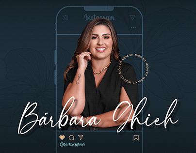 Bárbara Ghieh | Mídia Kit