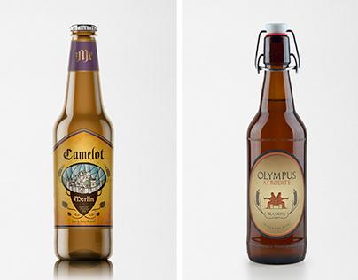 Homemade Beer Labels
