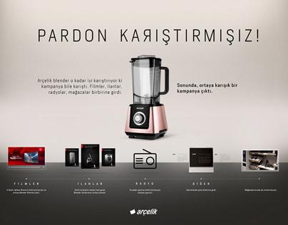 ARÇELİK PARDON KARIŞTIRMIŞIZ