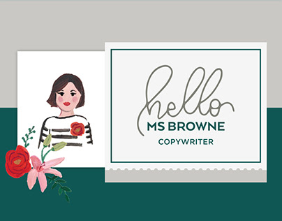 Hello MsBrowne Identity and Website