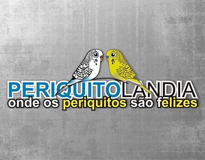 """Logotipo """"Periquitolândia"""""""