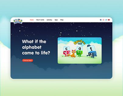 Alphablocks Website