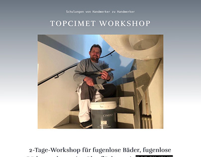 Topciment Workshop