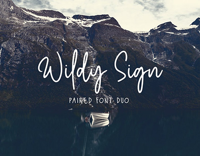 Free Wildy Sign Signature Font