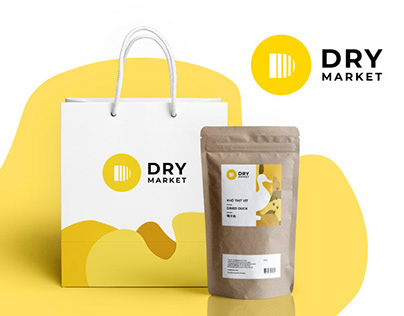 Logo design and identity for Dry Market