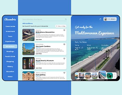 Alexandria Governorate Website Renovation