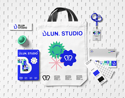 Blun Studio Personal Branding (graphic design agency)