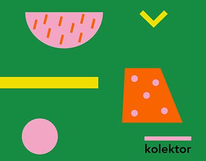 KOLEKTOR / Visual Identity