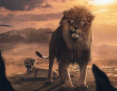 The Lion King - Inspired Art