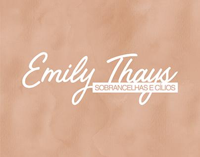 Emily Thais Sobrancelhas e Cílios