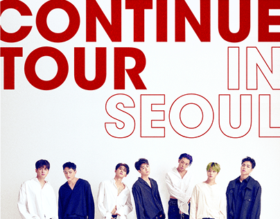 KPOP IDOL iKON [CONTINUE] TOUR OFFICIAL MD DESIGN