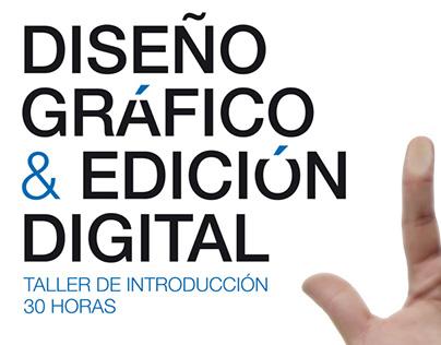 Cartel taller 'Diseño Gráfico y Edición Digital'